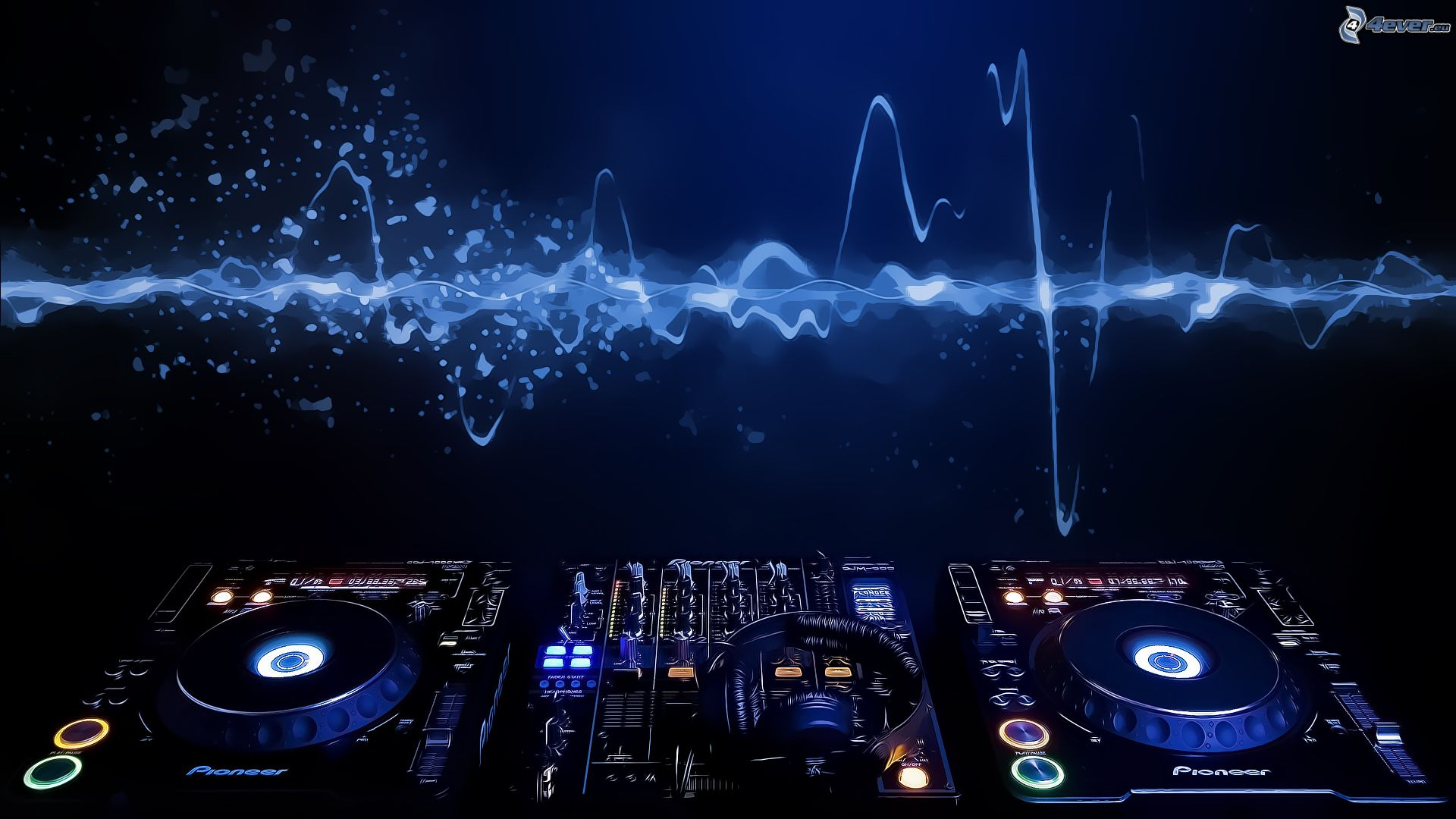 Dj console for Beautiful house music