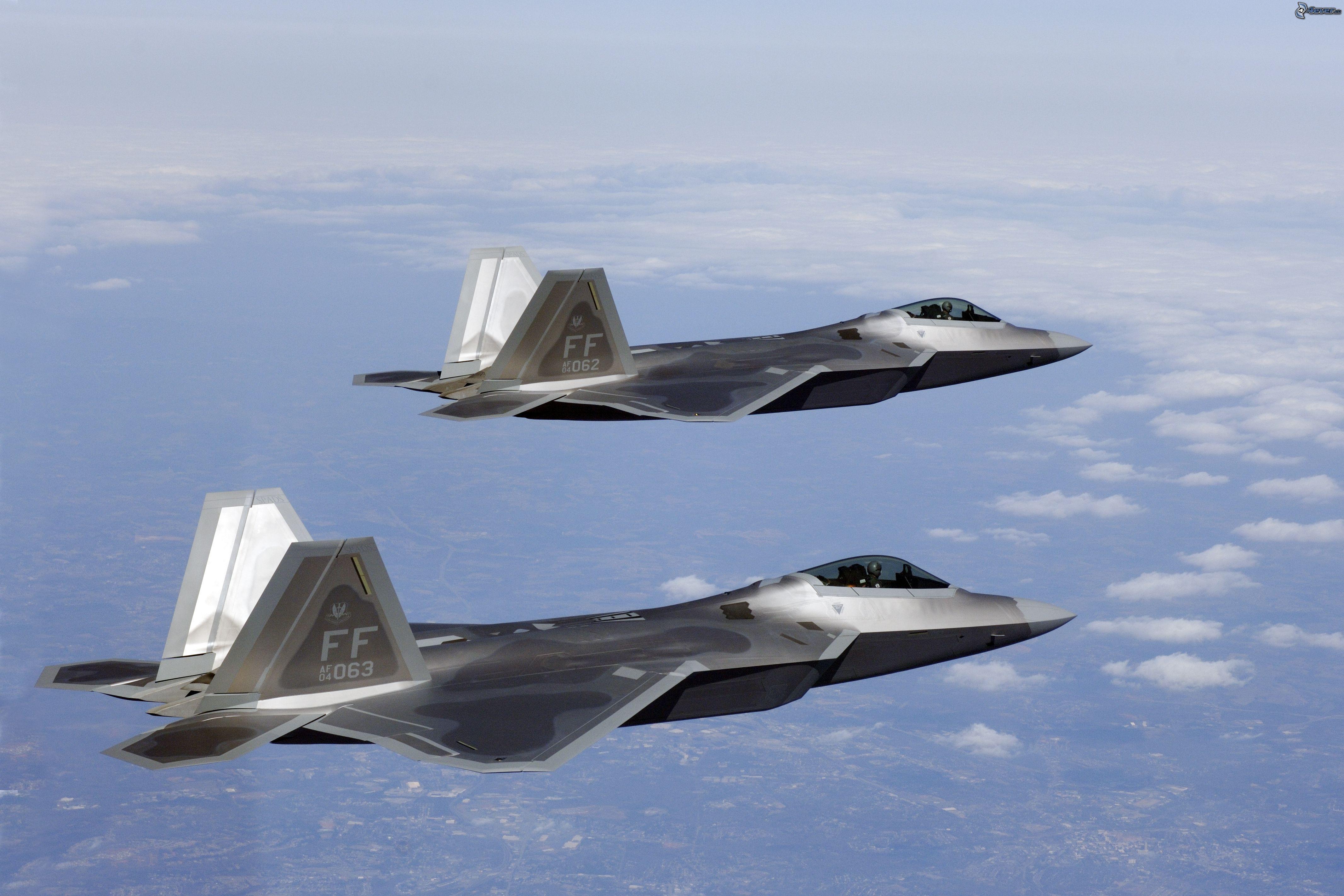 Aereo Da Caccia F 22 Raptor : F raptor squadrone