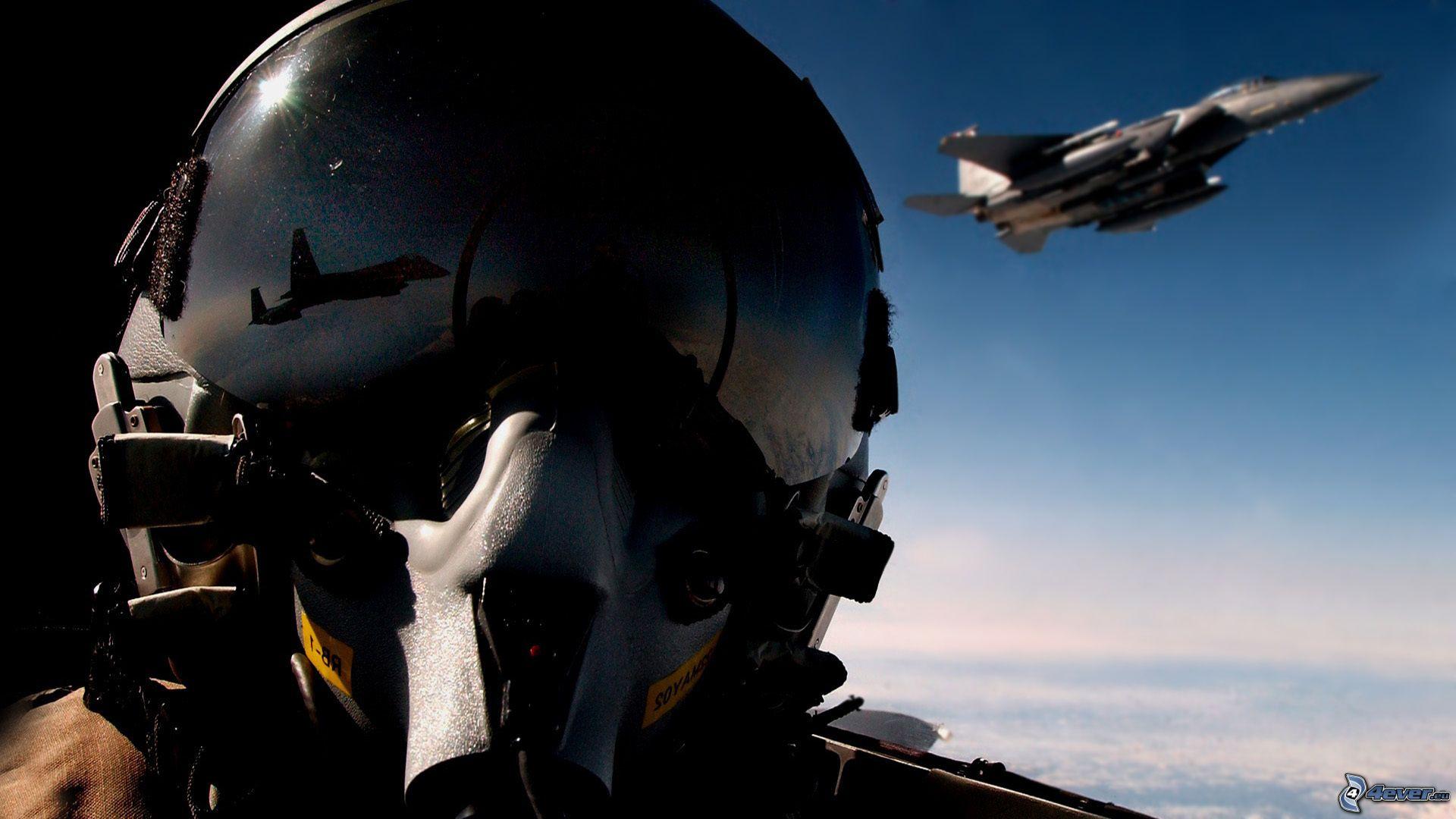 Aereo Da Caccia F15 : Pilota