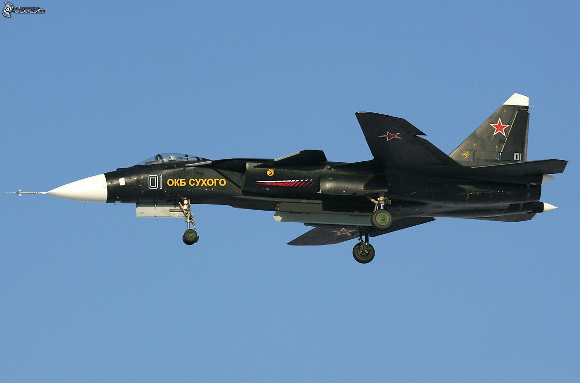 Aereo Da Caccia F 22 Raptor : Sukhoi su