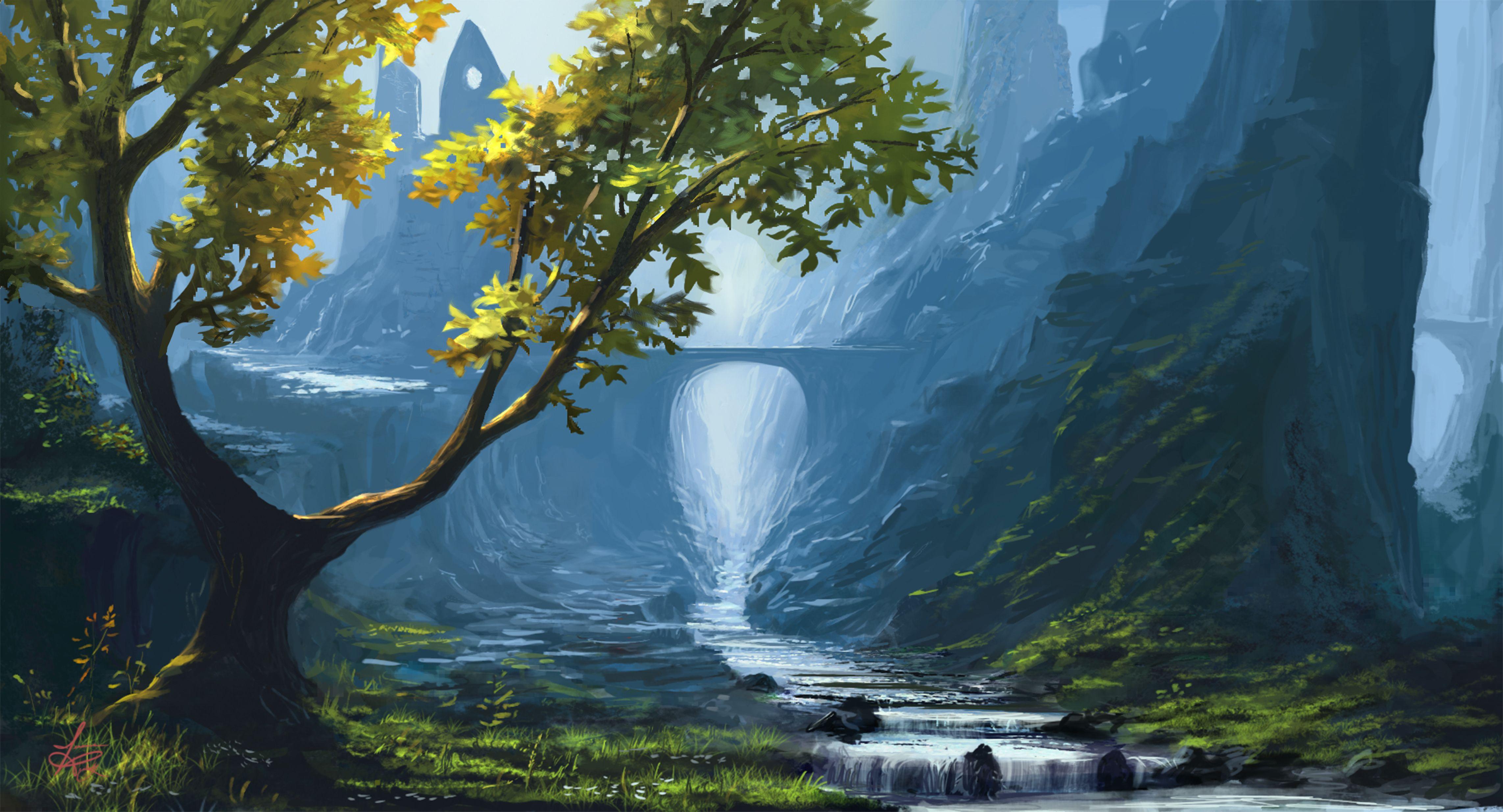 Paesaggio fantasy for Paesaggi fantasy immagini