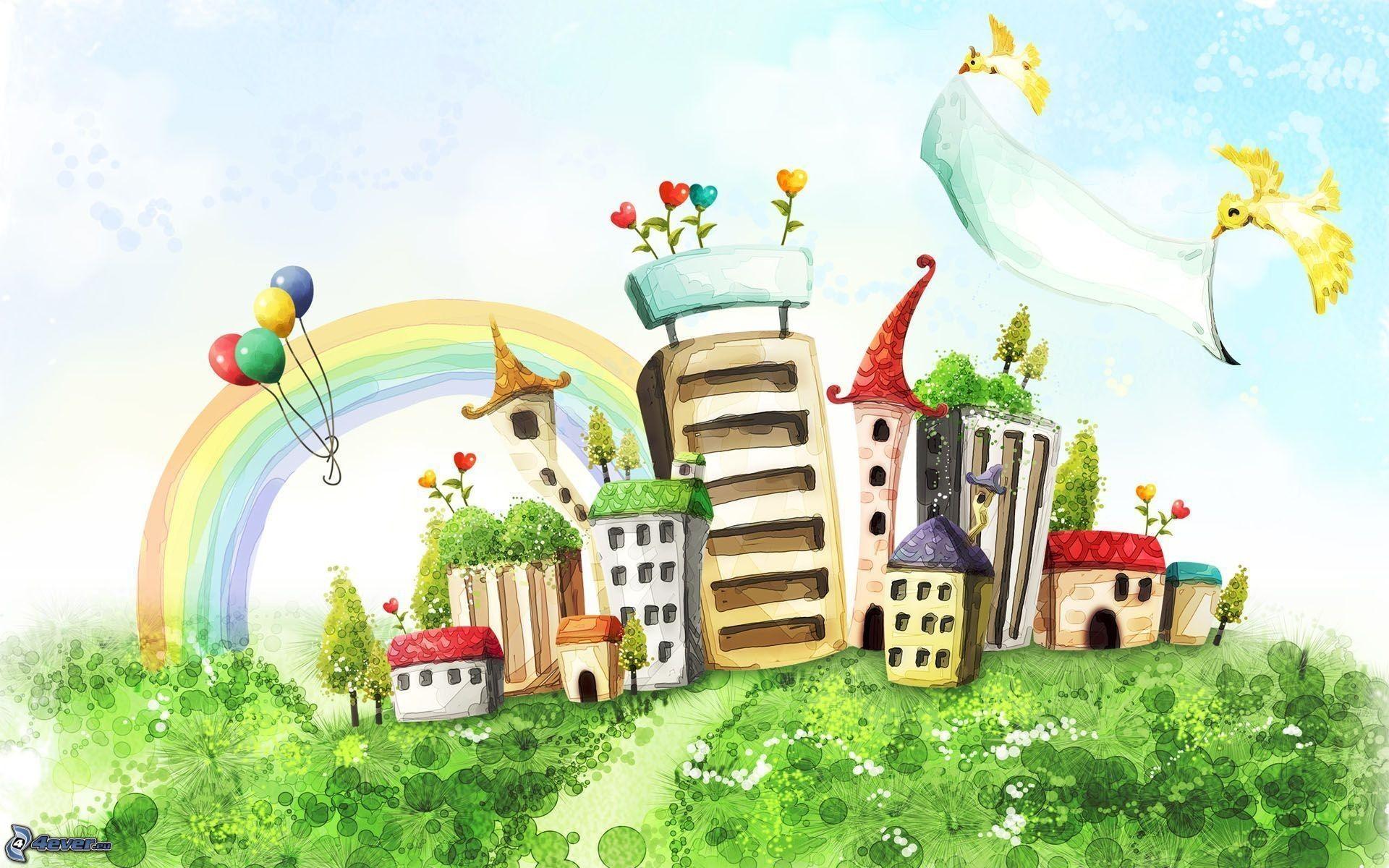Città di cartone animato