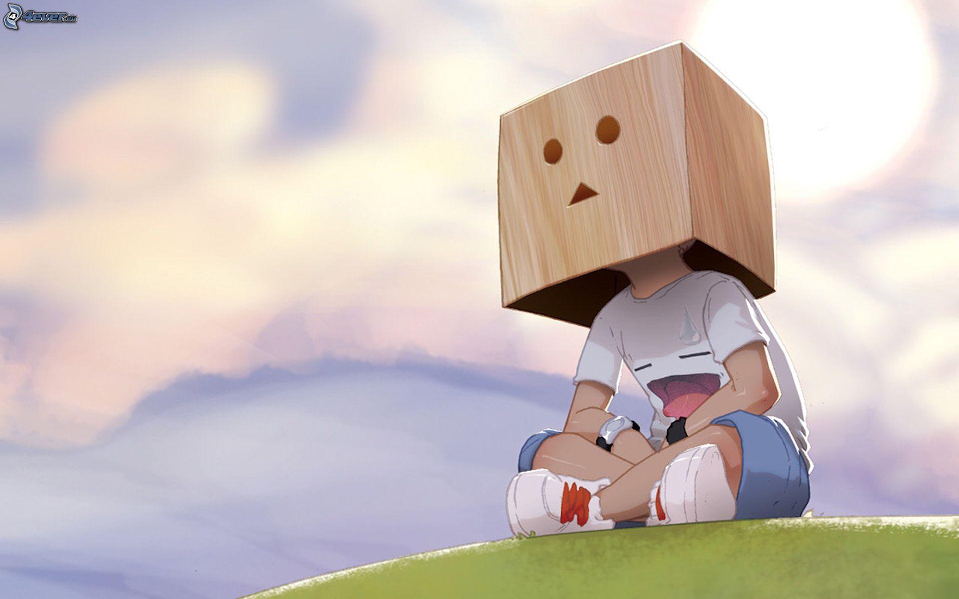 Ragazzo cartone animato