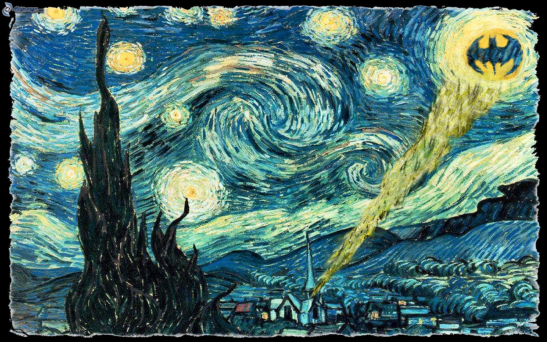 Vincent van gogh notte stellata for La notte stellata vincent van gogh