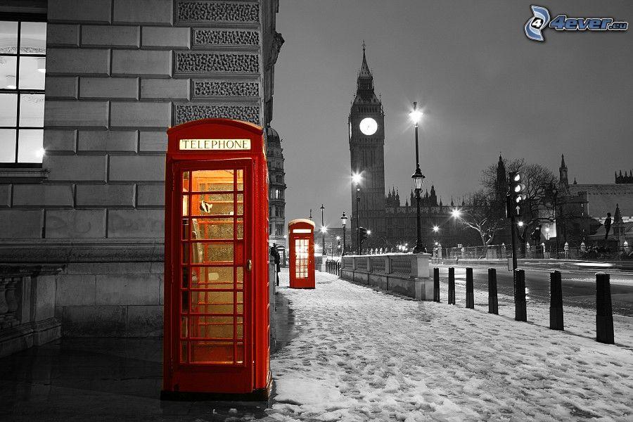 Londra for La cabina di zio ben