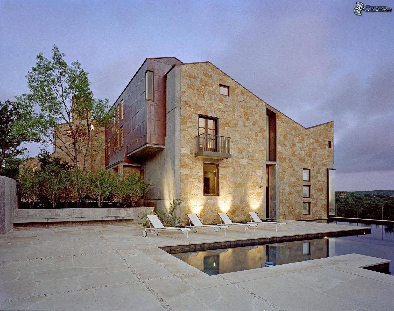 Casa moderna for Archi in casa moderna