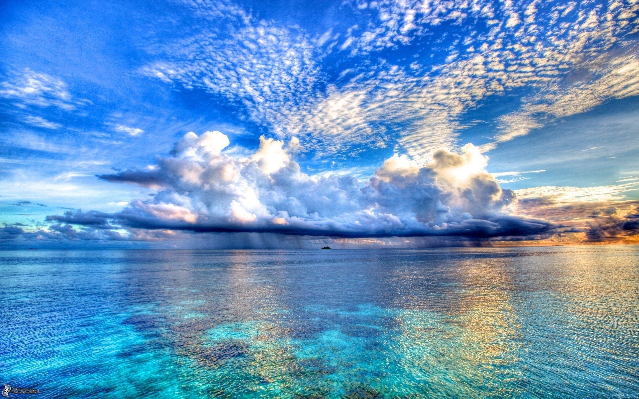 Nuvole for Immagini hd mare